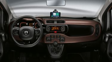 New Fiat Panda Trussardi limited edition - Interior dashboard
