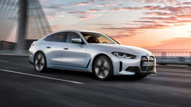 2021 BMW i4 eDrive40 - front 3/4