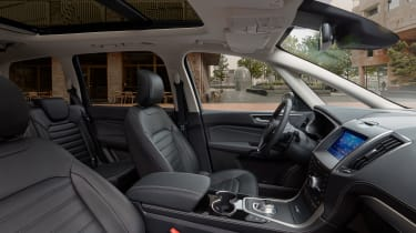 2019 Ford Galaxy - interior view from passenger door