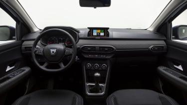 New Dacia Sandero interior
