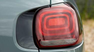 Citroen C3 Aircross SUV rear lights
