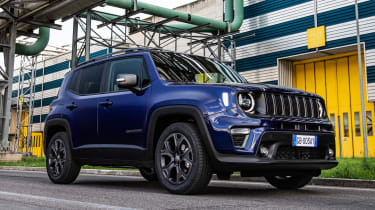 2021 Jeep Renegade 80th Anniversary - front 3/4 view