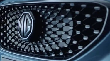 MG eZS - front grille