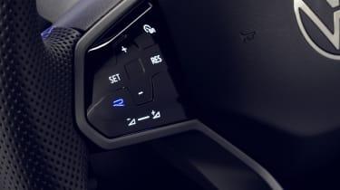 Volkswagen Tiguan R steering wheel buttons