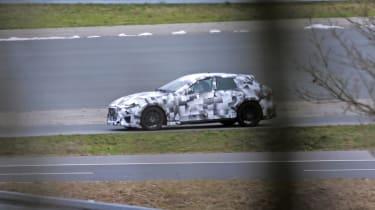 2022 Ferrari Purosangue SUV - prototype front passing shot