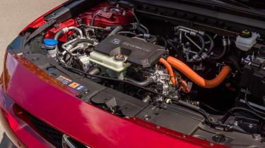 Mazda MX-30 SUV electric motor