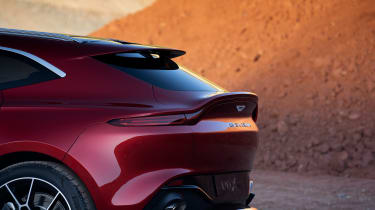 Aston Martin DBX rear end