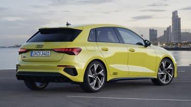 2020 Audi S3 Sportback rear view
