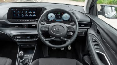 Hyundai Bayon SUV interior