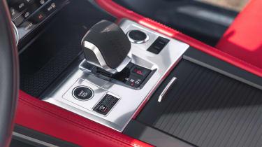 2020 Jaguar F-Pace - centre console and gear lever