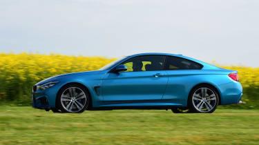 BMW 420d M Sport side
