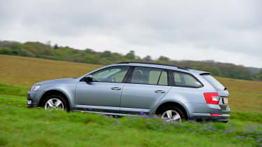 The Octavia Estate has a smart, grown up look to it