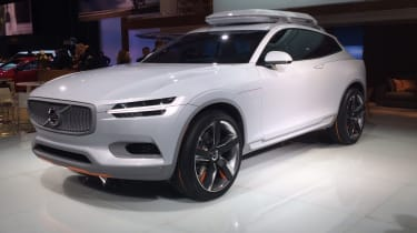 Volvo Concept XC Coupe front quarter static