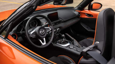 Mazda MX-5 30th Anniversary interior