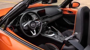 Mazda MX-5 30th Anniversary interior