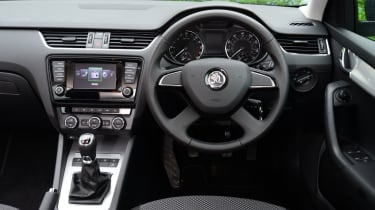 Like the styling of the exterior, the dashboard is no-nonsense in design