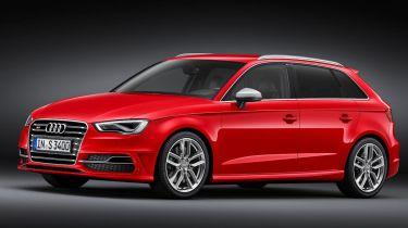 Audi S3 Sportback 2013 front quarter