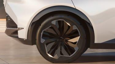 Lexus LF-Z concept - rear quarter close up