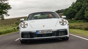 Porsche 911 Targa front tracking