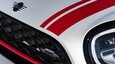 2020 MINI Countryman John Cooper Works front end detail