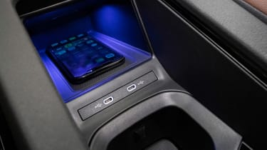 Volkswagen ID.4 SUV wireless smartphone charger