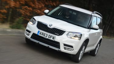 A mid-range update gave the Yeti a more sharply angled, modern-looking front end