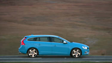The V60 is an extremely comfortable car with supportive seats and low noise levels