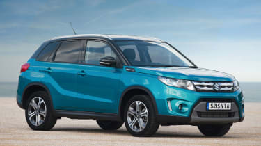 Bold colour schemes help set the Vitara apart for its many competitors