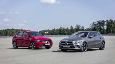 Mercedes A250e and B250e plug-in hybrids