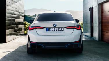 2021 BMW i4 eDrive40 - rear view