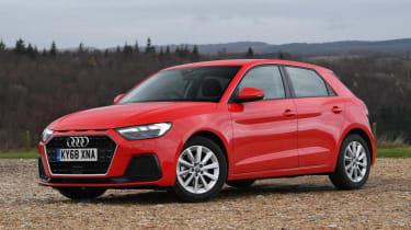 Audi Au - static 3/4 view