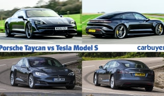 Porsche Taycan vs Tesla Model S header