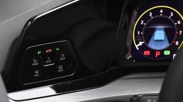 2020 Volkswagen Golf - digital instrument switches