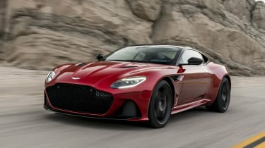 Aston Martin DBS Superleggera front