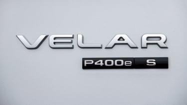 Range Rover Velar SUV badge