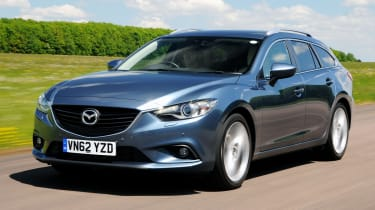 Mazda6 Tourer 2012 front quarter tracking