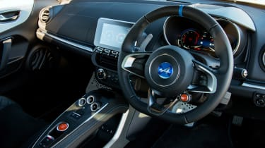 Alpine A110 coupe interior