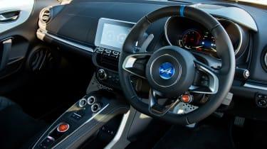 Alpine A110 coupe interior