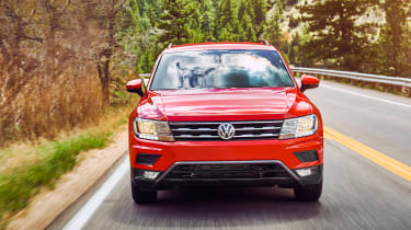 A good balance of comfort and control makes the Tiguan Allspace a great SUV to drive.