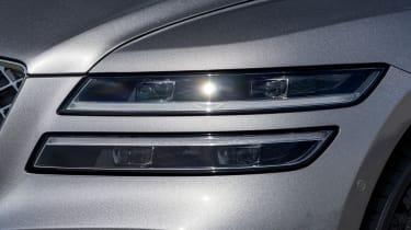 Genesis G80 saloon headlights