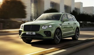 2020 Bentley Bentayga SUV - front 3/4 tracking