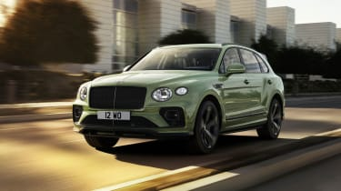 2020 Bentley Bentayga SUV - front 3/4 tracking