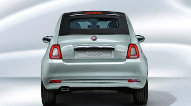 Fiat 500 mild hybrid - rear end