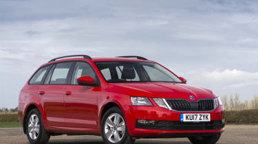 The Skoda Octavia Estate is among the most practical family cars you can buy