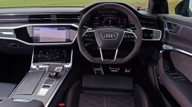 Audi RS6 Avant estate interior
