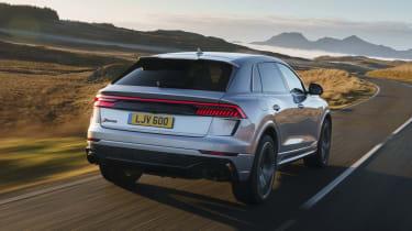 Audi RS Q8 SUV - rear 3/4 dynamic