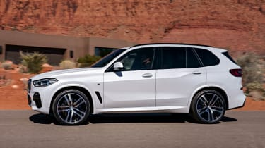 BMW X5 static side 2