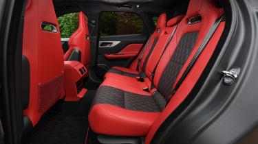 Jaguar F-Pace SUV back seats