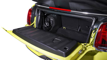 MINI Cooper S convertible boot