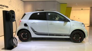 Smart EQ ForFour side view
